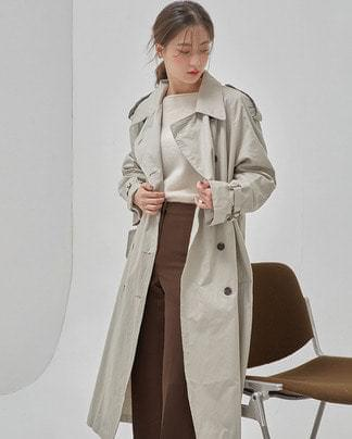 low french trench coat