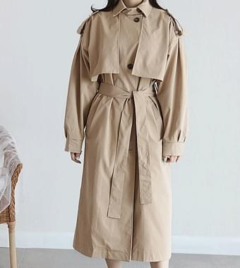 Mixing trench coat