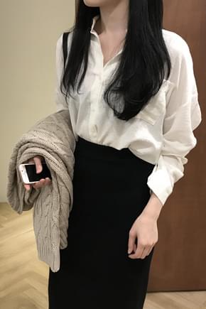 Butter shirt blouse
