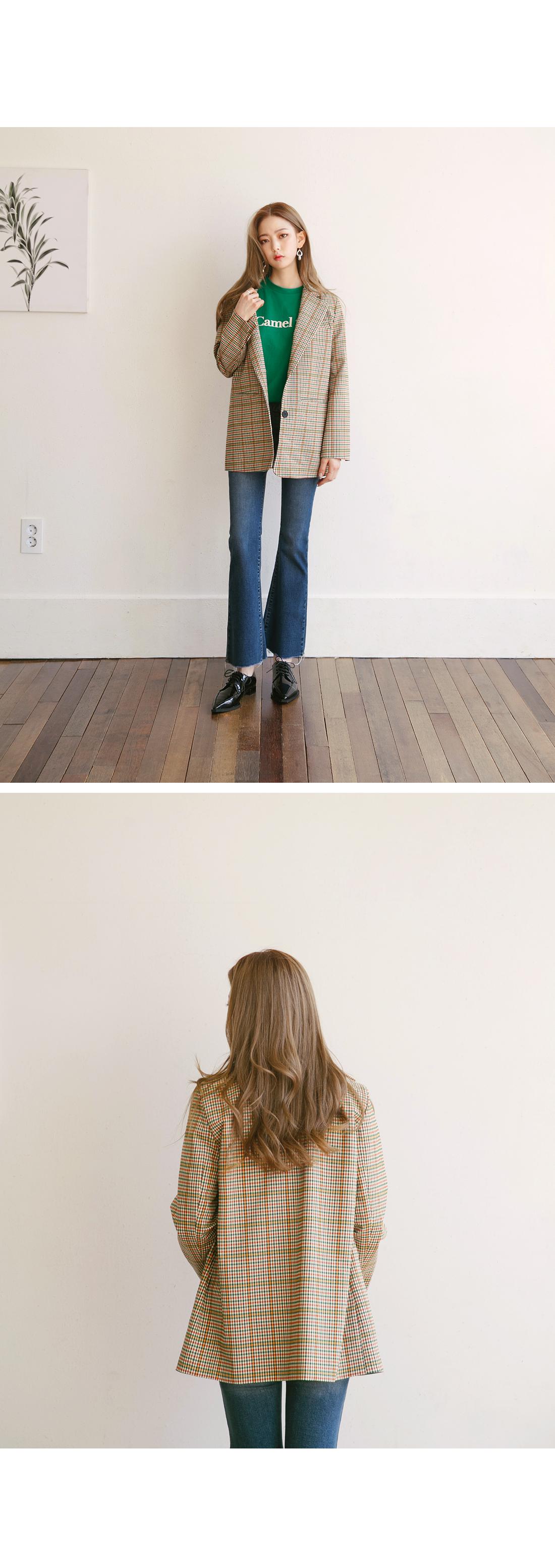 4 BUTTON SEMI BOOTS PANTS