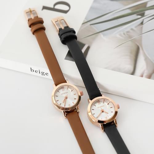 Chrono Leather Watch
