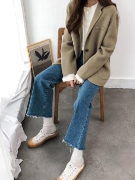Handmade c & half coat