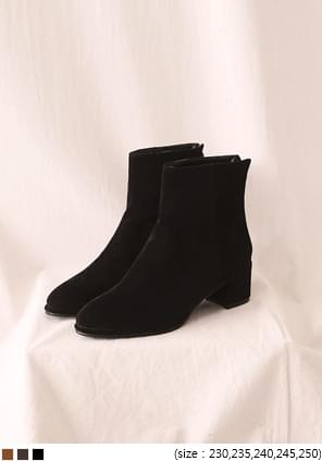 MOOD LINE SUEDE ANKLE BOOTS