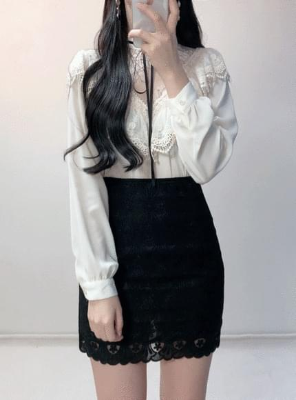 ♥ Renasaisuru flower blouse