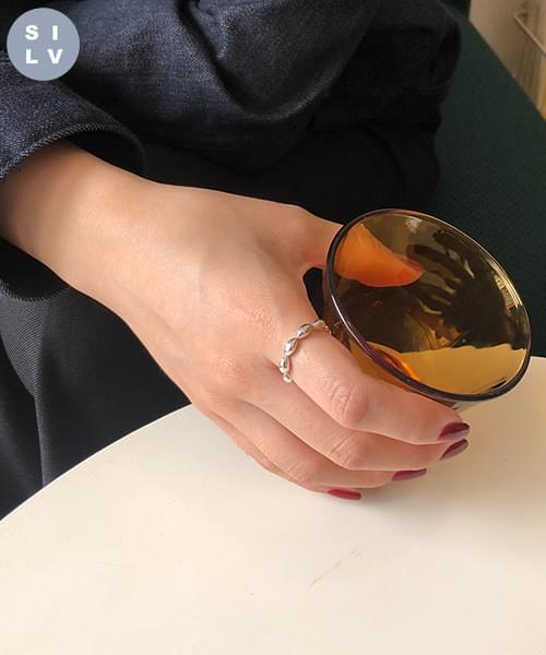 (silver925) jade ring