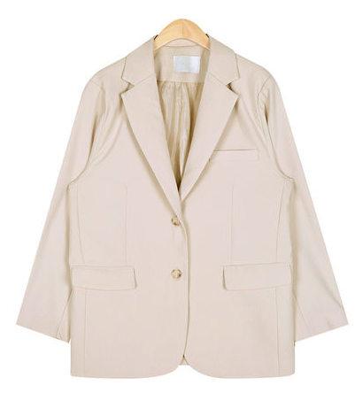 monotone simple jacket