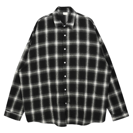 Over Luzpit Check Shirt