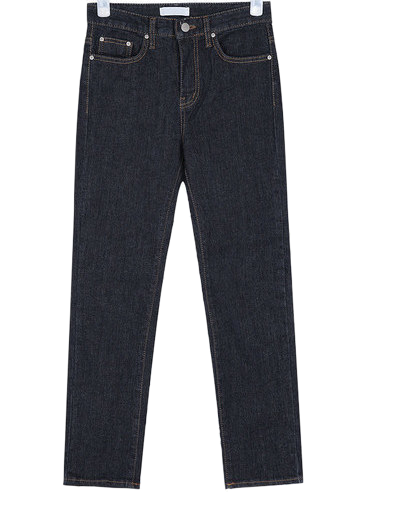 signature straight pants (s, m)