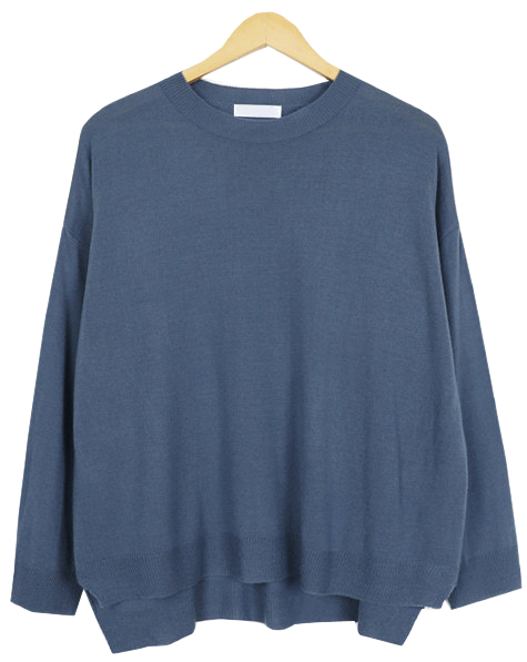 Charming round knit