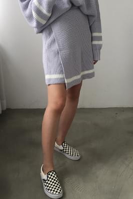 Cheating Wrap Skirt