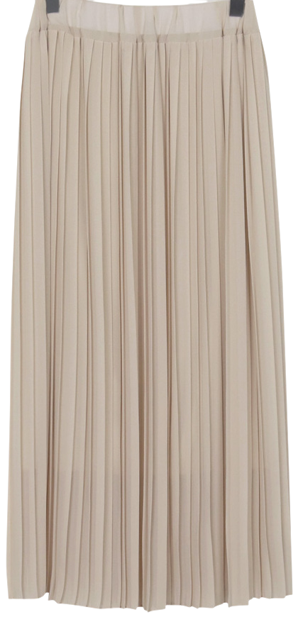 Candy pleats banding skirt_H (size : free)