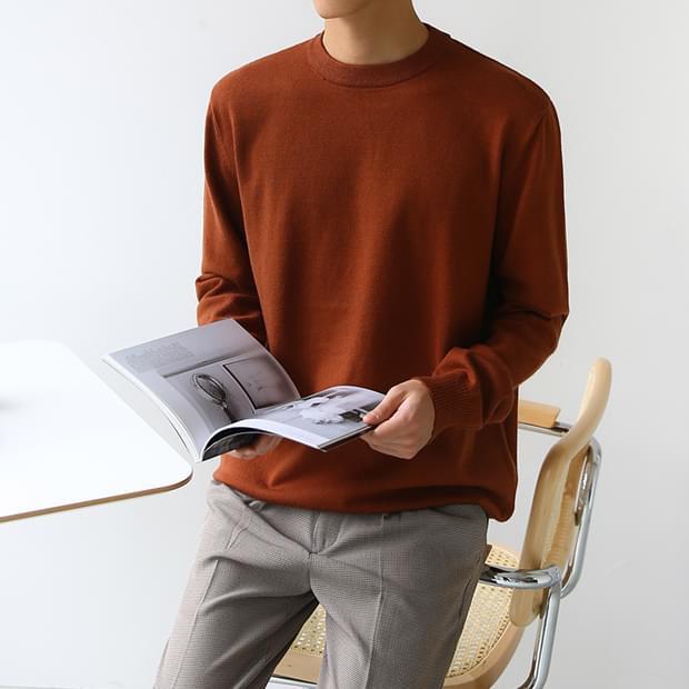 Low Round Knit
