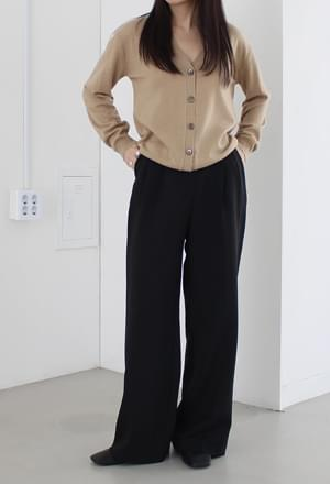 Autumn loose long slacks (3colors)