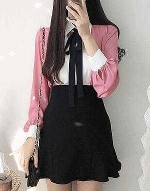 Lisa ribbon bl