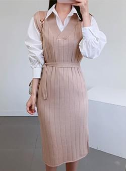 Shirt Knit Dress