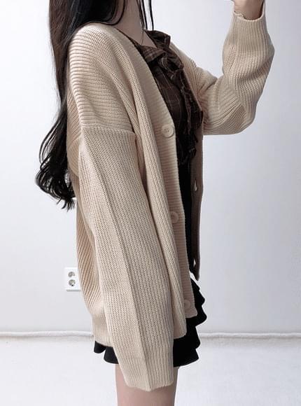 Dotom Parky knit cardigan