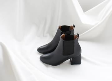 Middle Heel Chelsea Boots 6cm