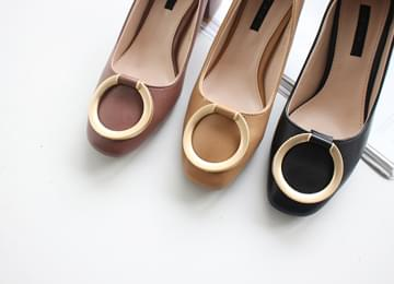 Gold ring middle heel 5cm