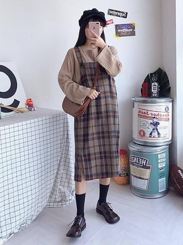 Attack box overall dress