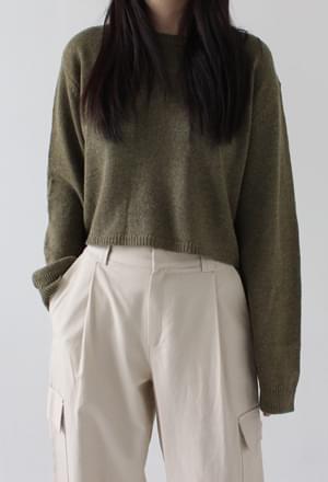 Crop knit (3colors)