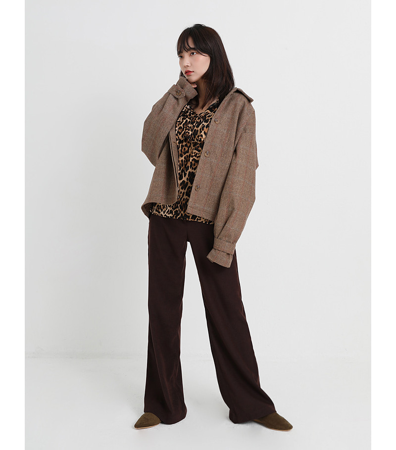 louis boxy jacket (2colors)