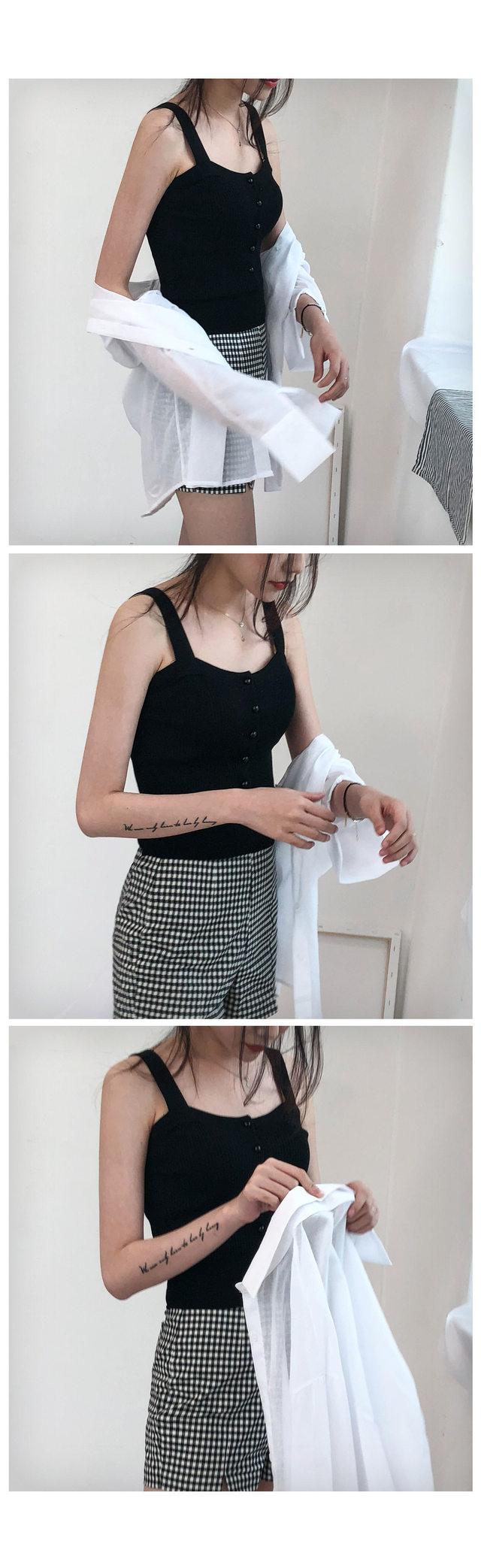 Cropped Knit Nashi
