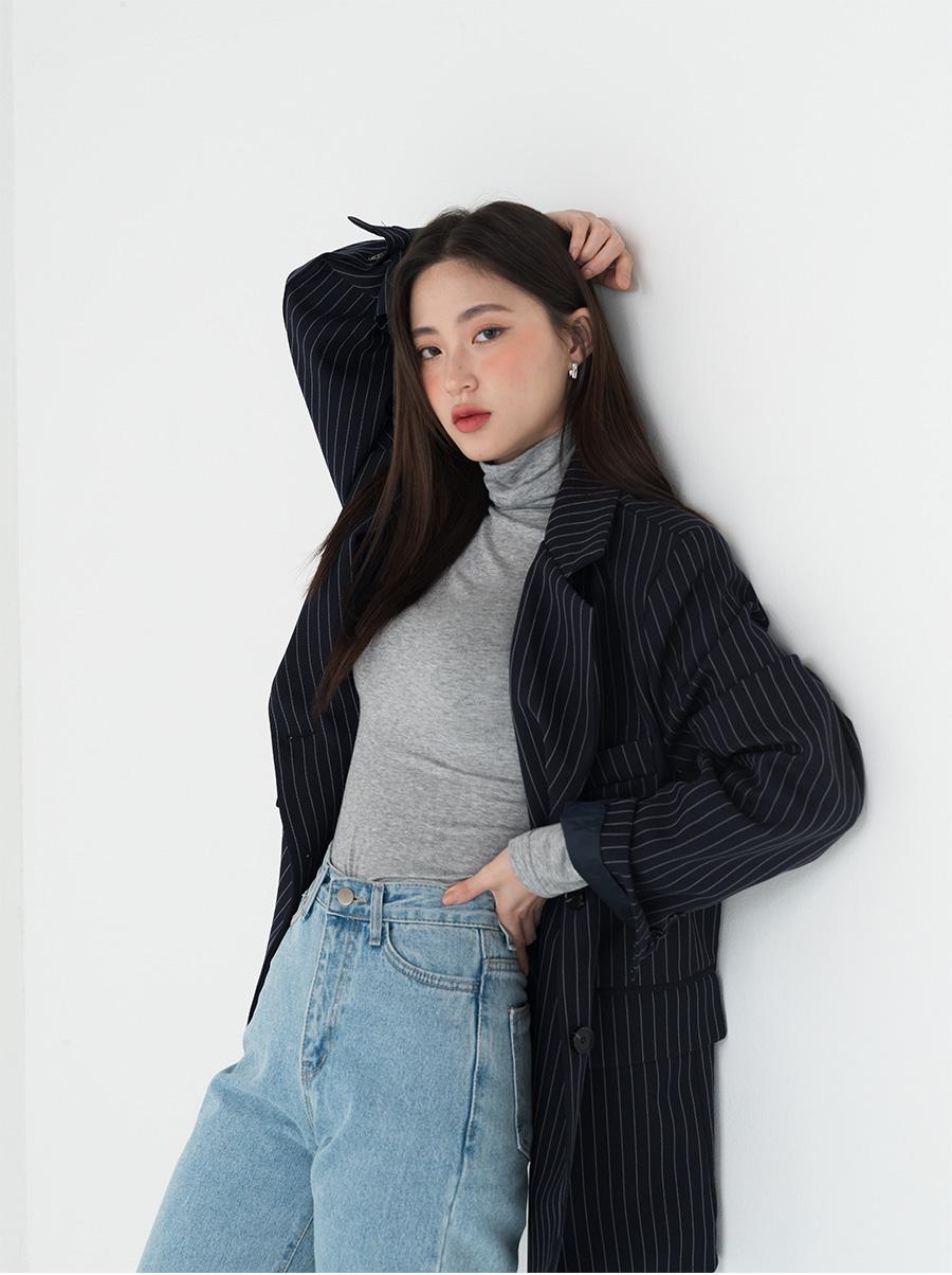 boy fit stripe jacket