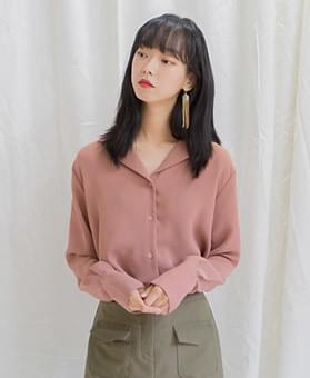 Swell cuff blouse