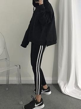 Colored two-legged leggings