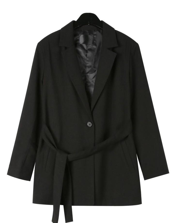 Stately strap single jacket