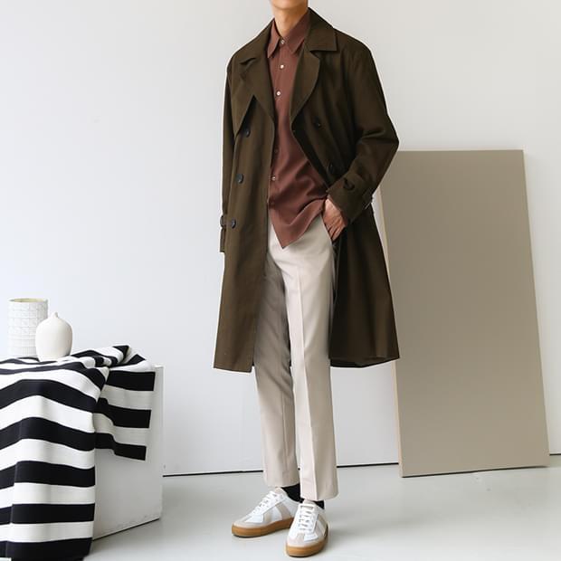 Jay trench coat