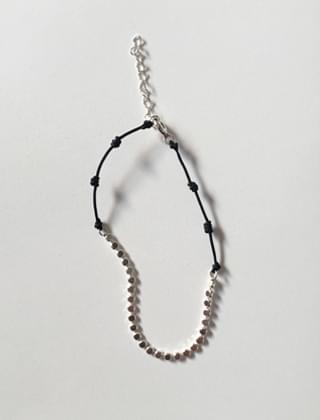 black strap bracelet