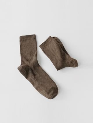 cotton color lip socks(9colors)