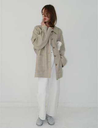 classy mood oversized half coat