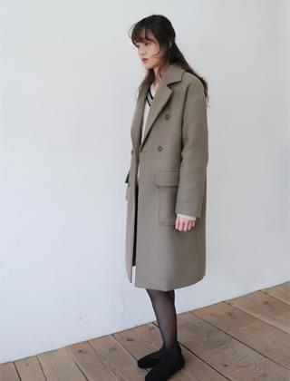 standard double breast coat (3colors)