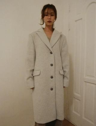 mannish over coat (2colors)