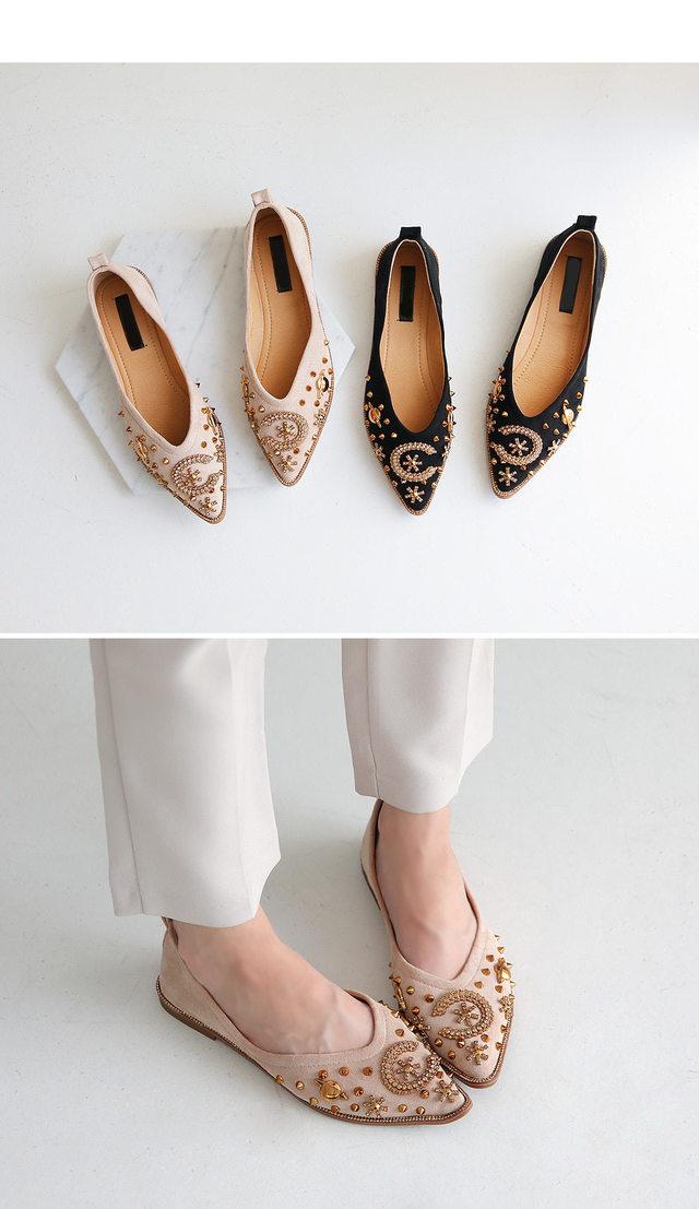 Karel flat shoes 1.5cm
