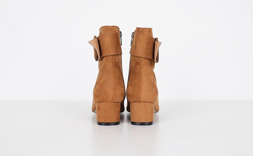 lap belt ankle heel (3colors)