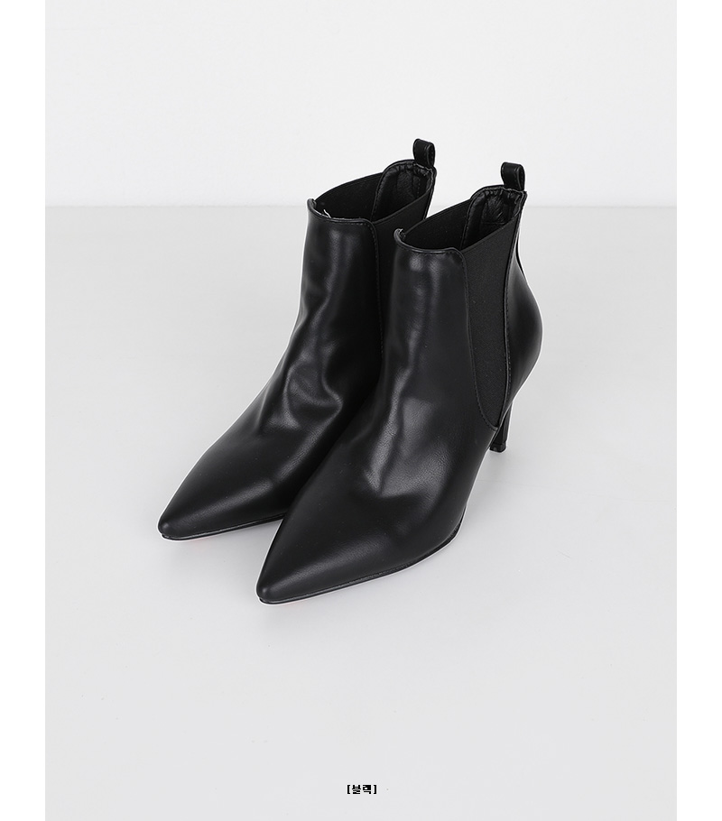 favorite pointed boots heel (3colors)