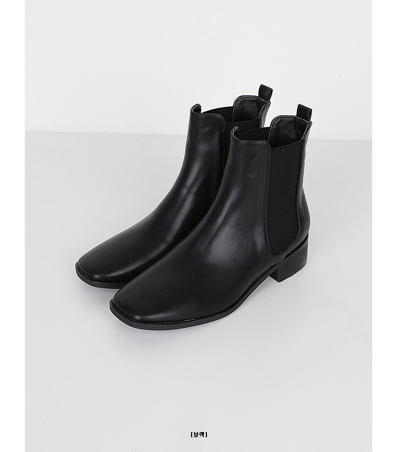 back to basic ankle boots (2colors)