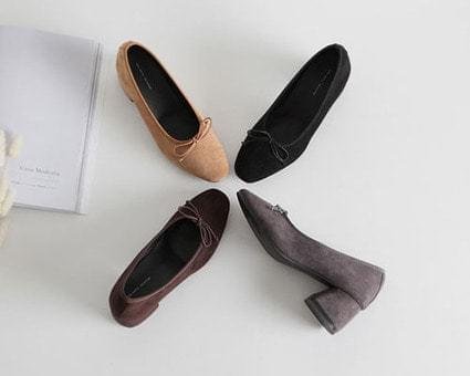 Eisha Suede Middle Hill