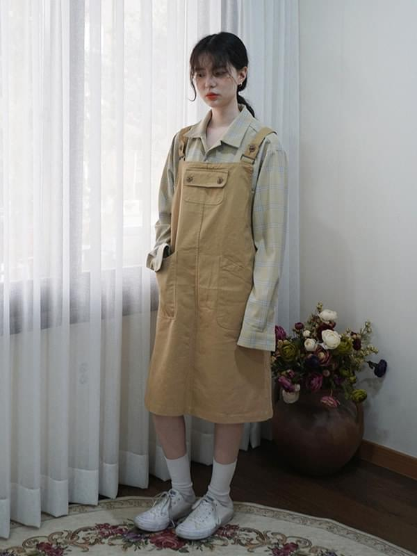 Cutie Overalls Suspenders Dresses