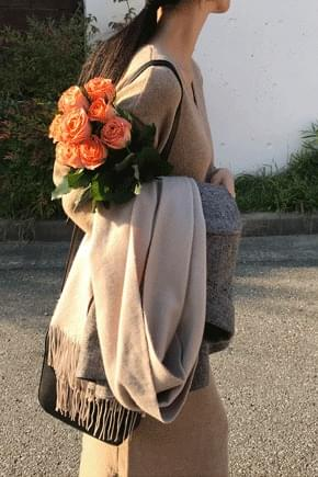 Michelle knit long dress
