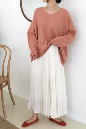 Marquee Balls Neck Knit