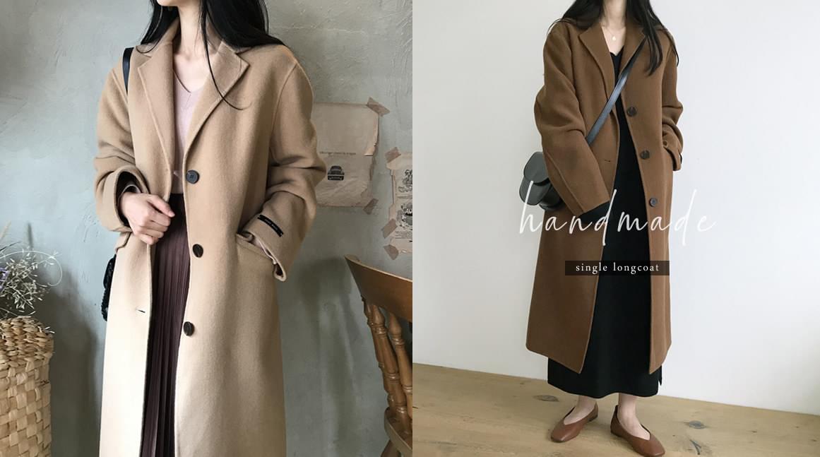 single hand made long coat * Order rush!