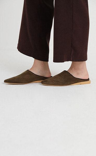 call by suede mule (4colors)