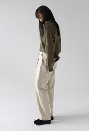Banding cargo pants (3colors)