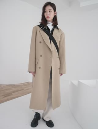 basic double coat (2colors)