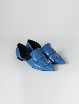 tassel crack flat shoes(4colors)