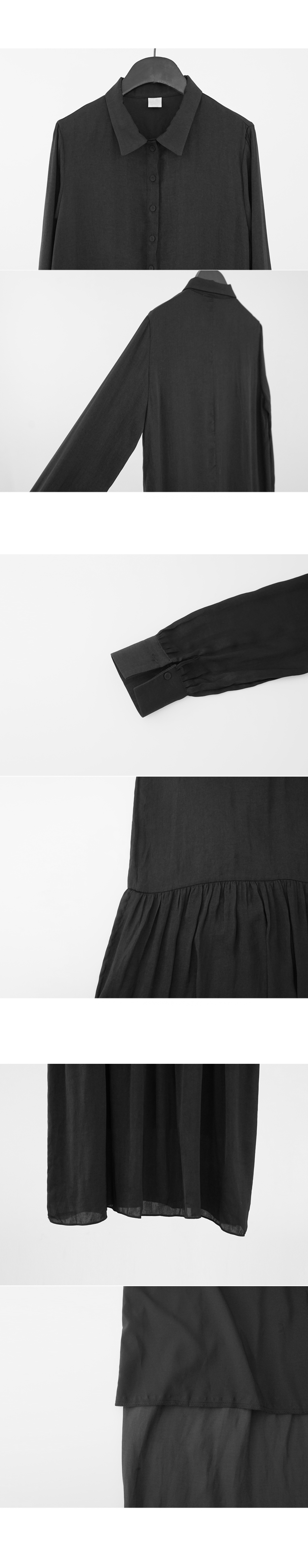 lightly shirt one-piece (3colors)